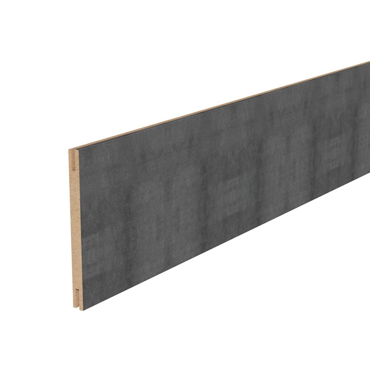 Добор дверной коробки 2050x150 мм МДФ цвет лофт тёмный