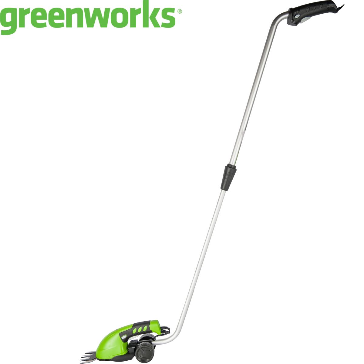 Ножницы садовые аккумуляторные Greenworks с телескопической ручкой 7.2 В