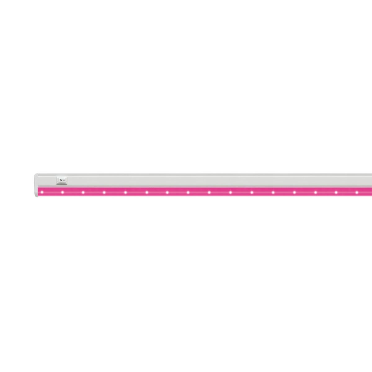 Светильник светодиодный для растений Uniel P26 570 мм 10 Вт розовый свет цвет белый