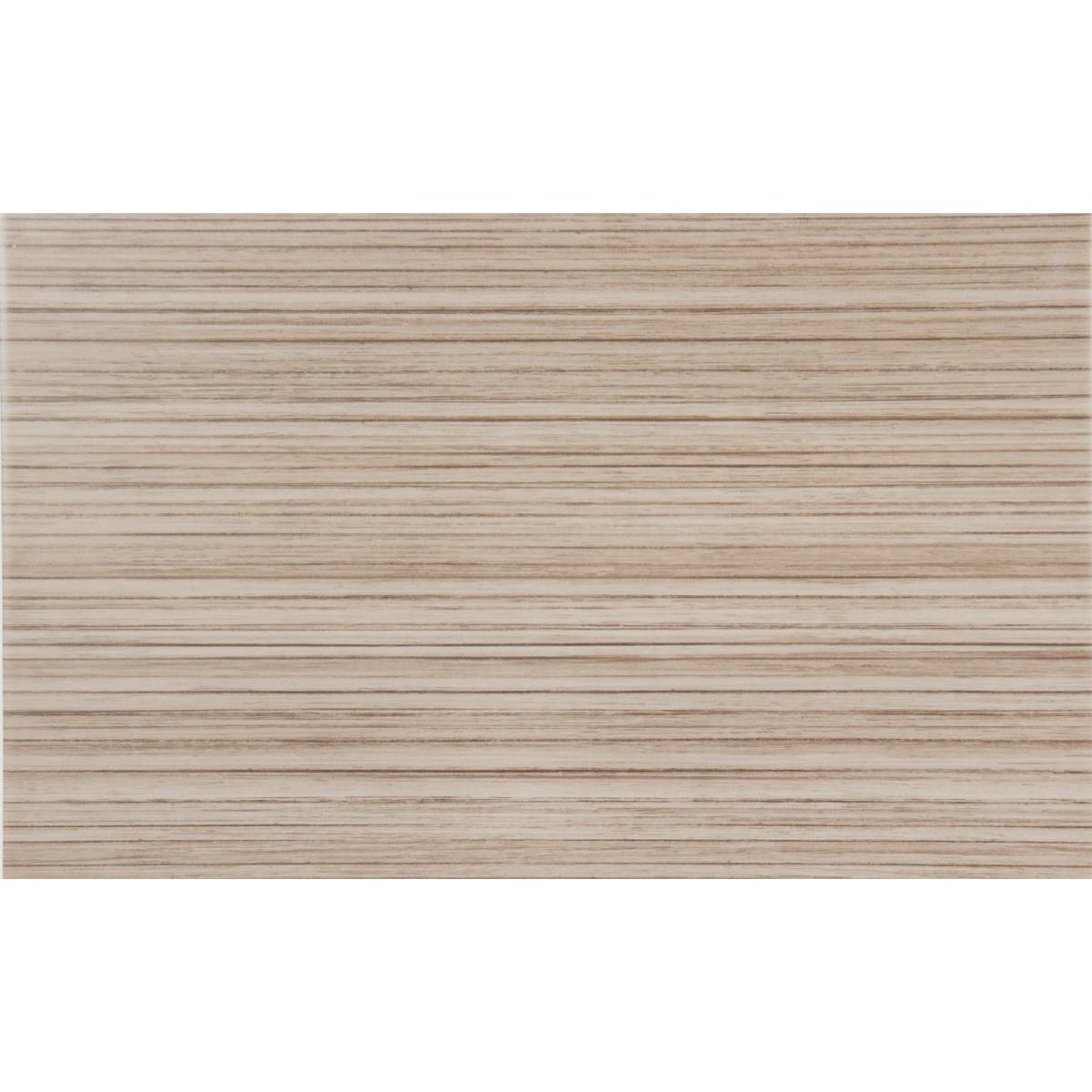 Плитка настенная Golden Tile Зебрано 25x40 см 1.6 м² цвет коричневый