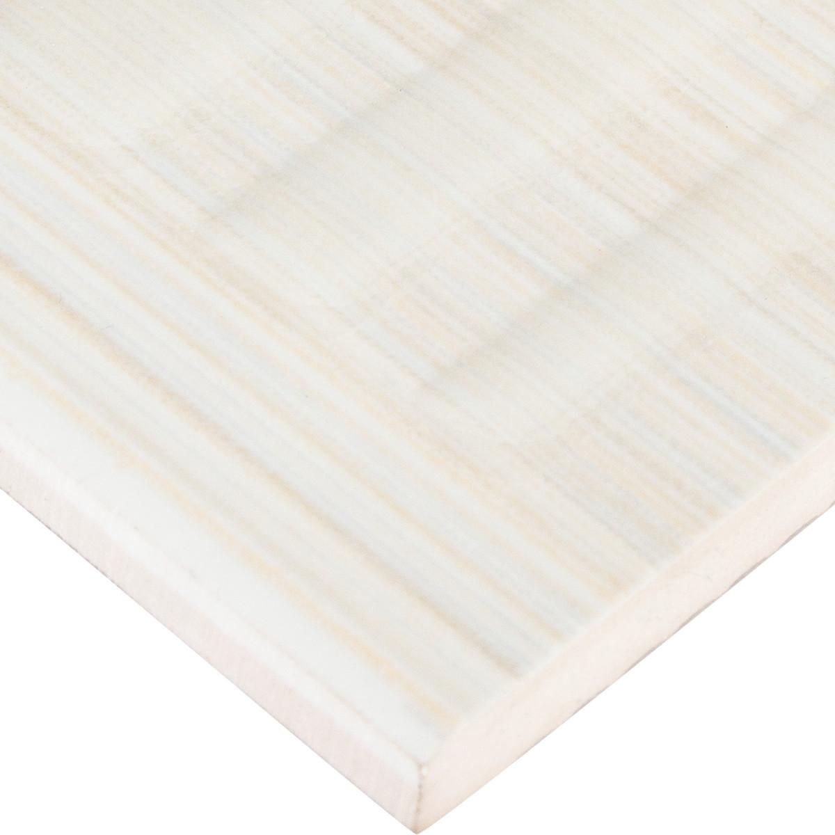 Бордюр Golden Tile Вельвет 25x60 см цвет бежевый