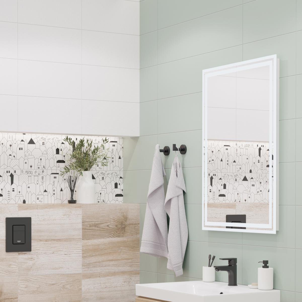 Плитка настенная LB Ceramics Моана 19.8x39.8 см 1.58 м² цвет бирюзовый