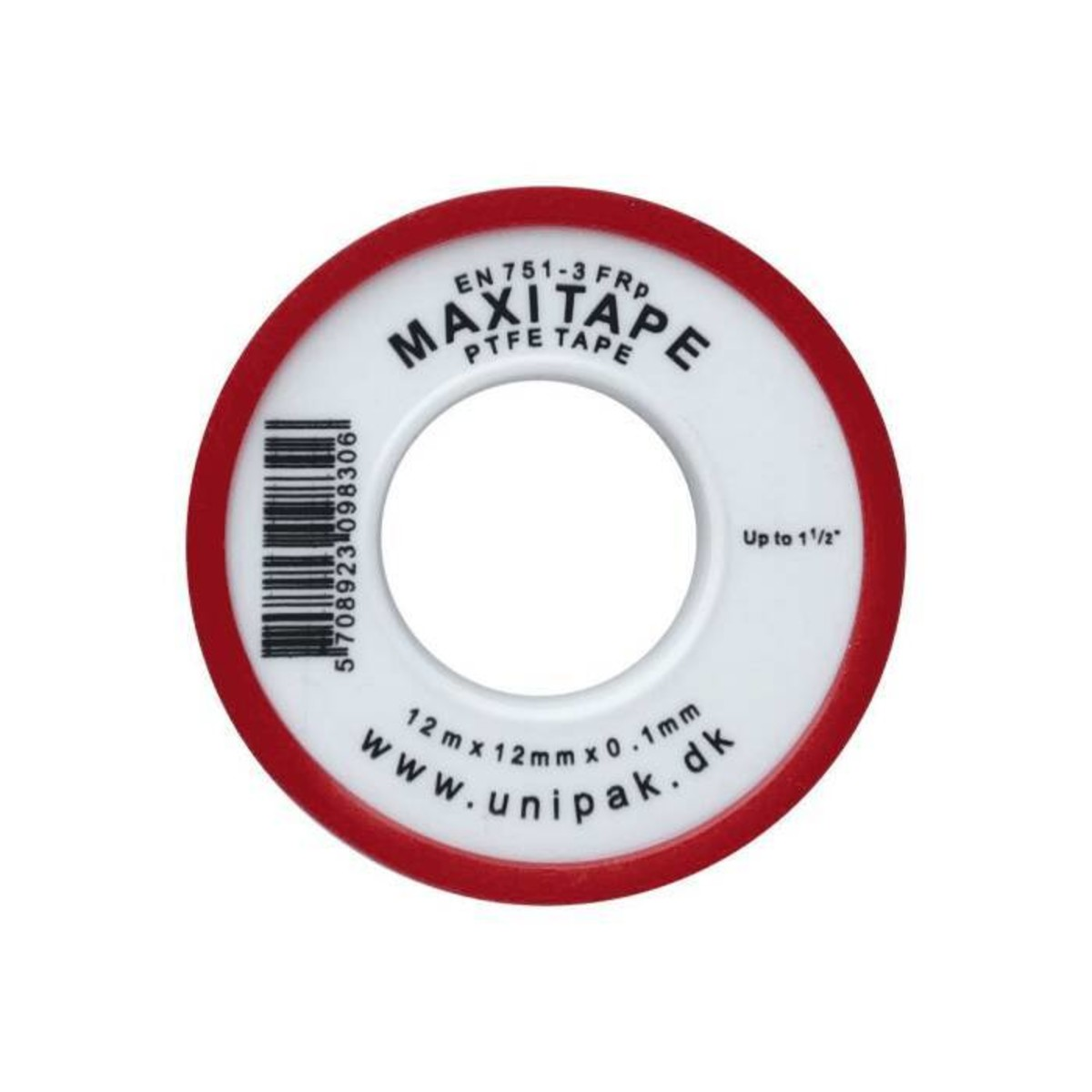 Лента-фум Unipak Maxitape MD 12х0.1 мм 13.2 м