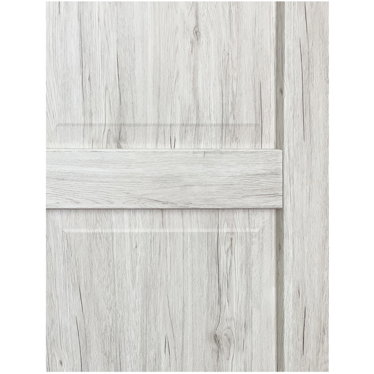 Дверь Межкомнатная Амелия 90Х200 С Фурнитурой Пвх Цвет Рустик Серый