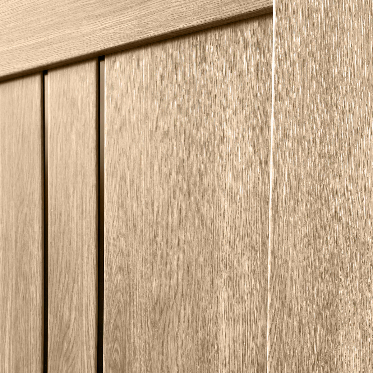 Дверь Межкомнатная Остеклённая Бергамо 90Х200 С Фурнитурой Пвх Цвет Европейский Дуб