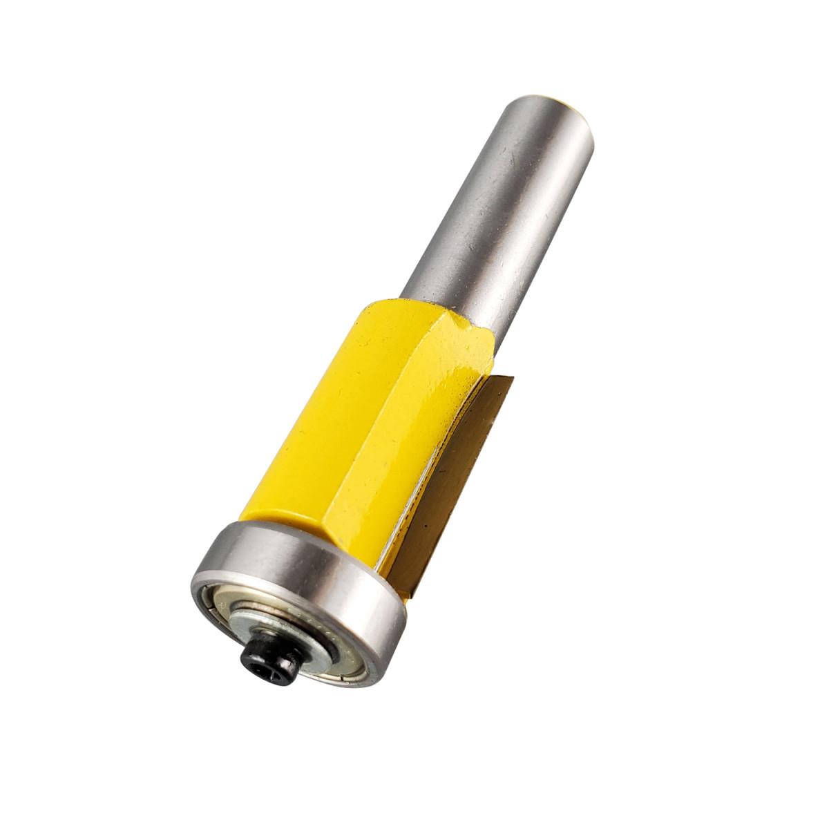 Фреза кромочная прямая 19 х 254 мм нижний подшипник хвостовик 12 мм