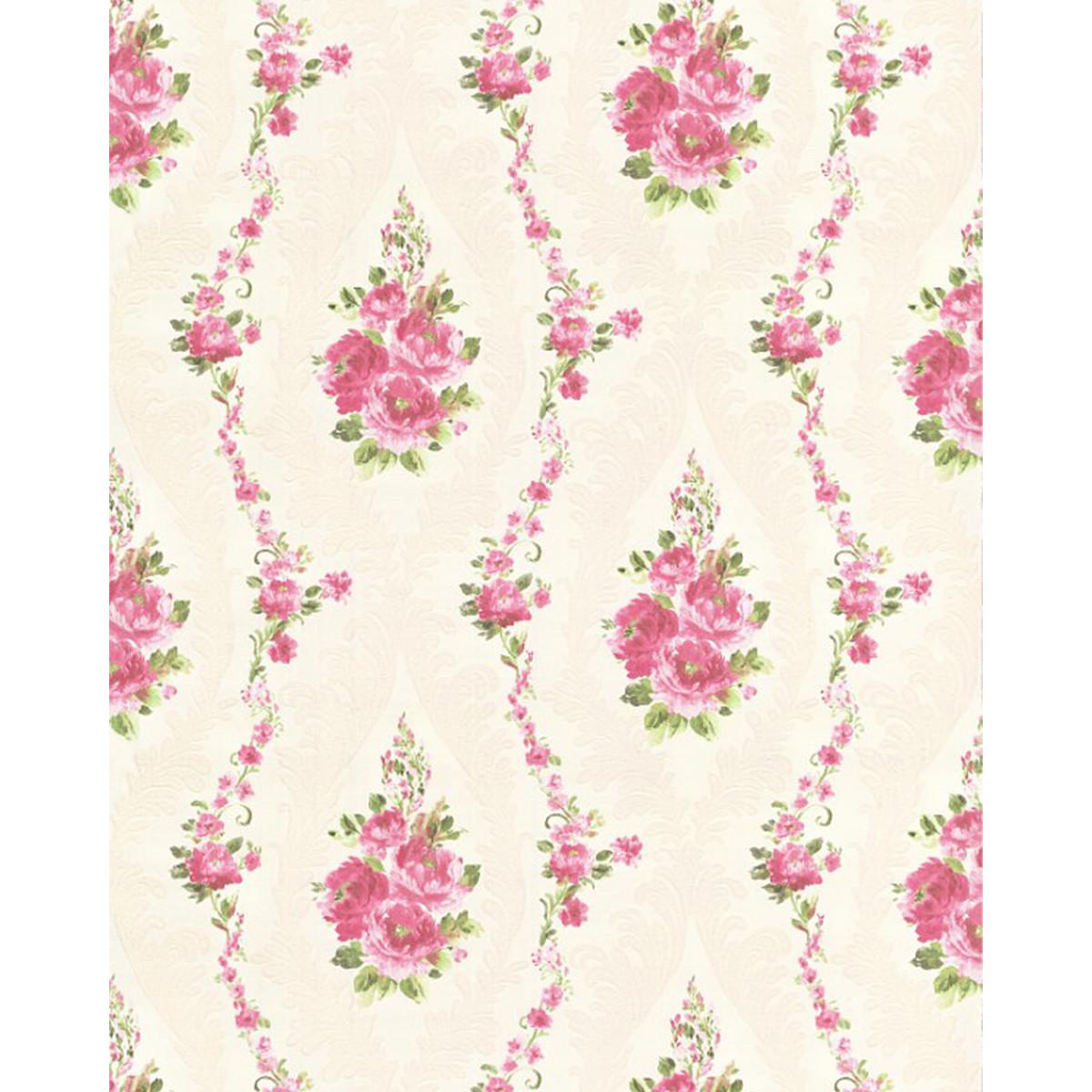 Обои флизелиновые Мир Авангард Rose Krep розовые 1.06 м 35994-1