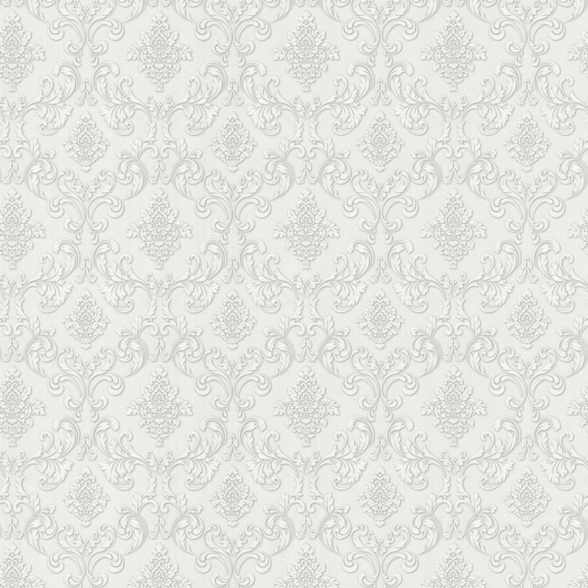 Обои флизелиновые Мир Авангард белые 1.06 м 45-217-06