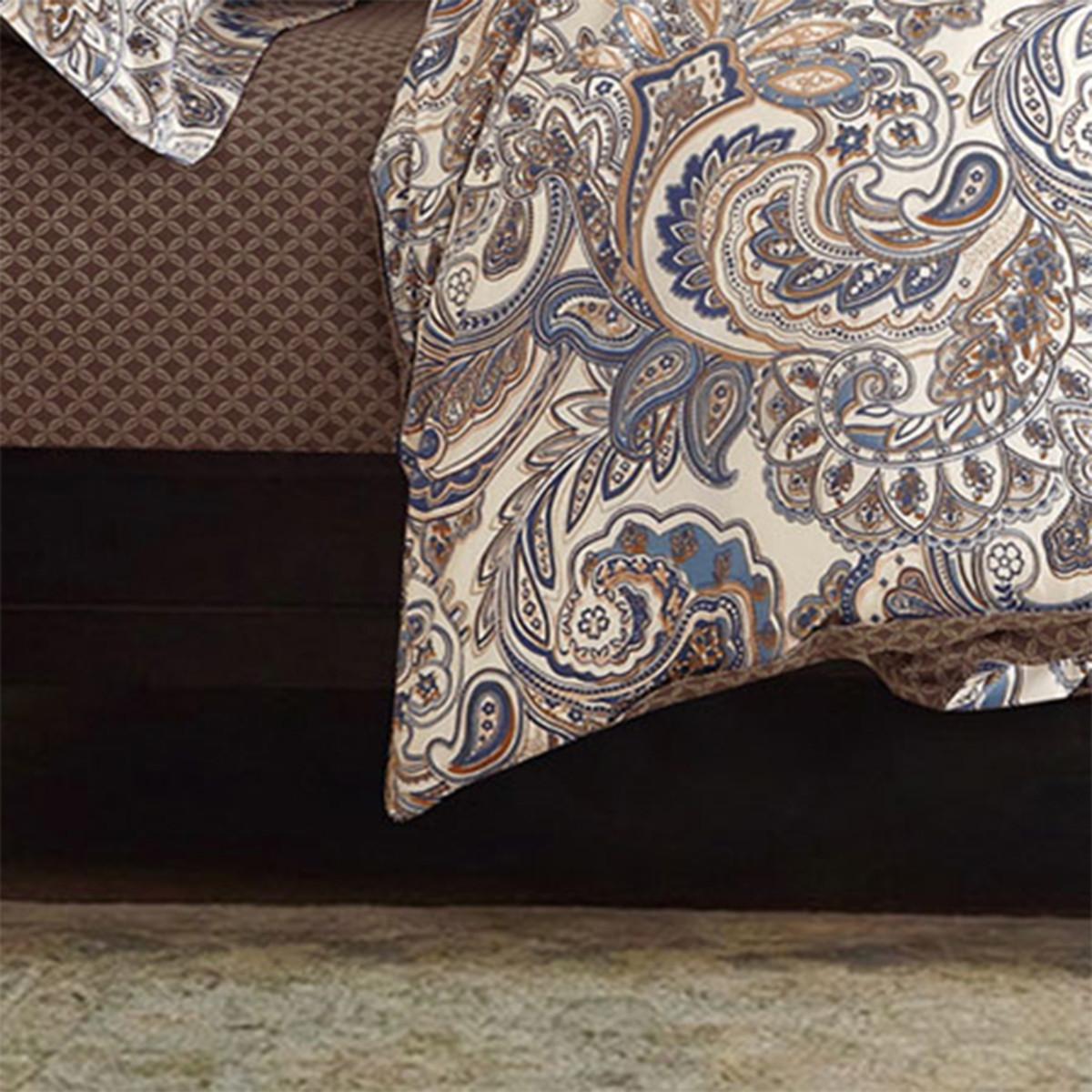Комплект Постельного Белья Орнамент Полутораспальный Сатин 70x70