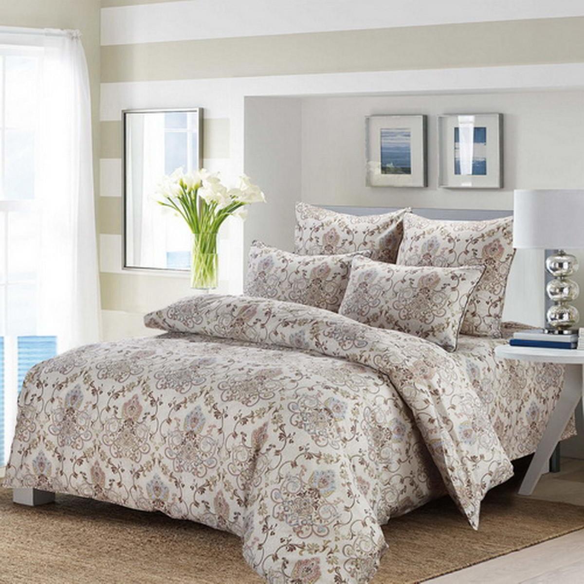 Комплект постельного белья Эфимея евро сатин