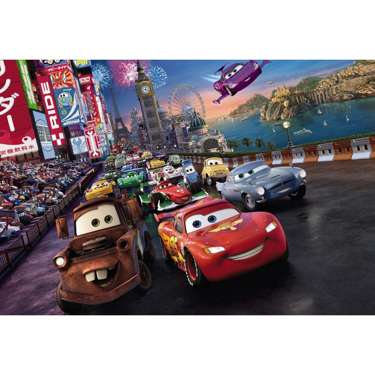 Фотообои Komar Cars Race 4-401 254х184 см