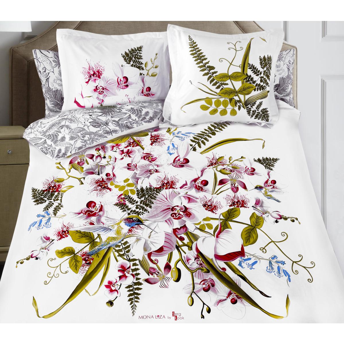 Комплект Постельного Белья Orchid Двуспальный Сатин