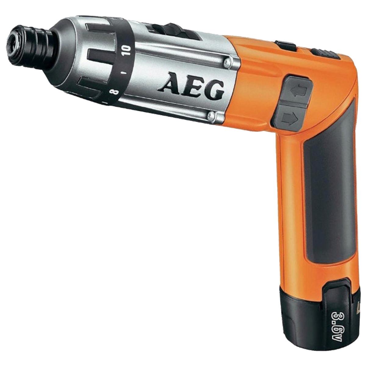 Аккумуляторная отвертка AEG SE 3.6 Li-152С 4935413165