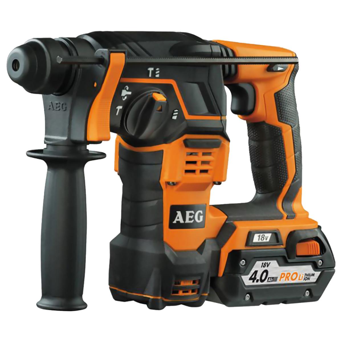 Аккумуляторный перфоратор AEG BBH 18LI-402C 4935443457