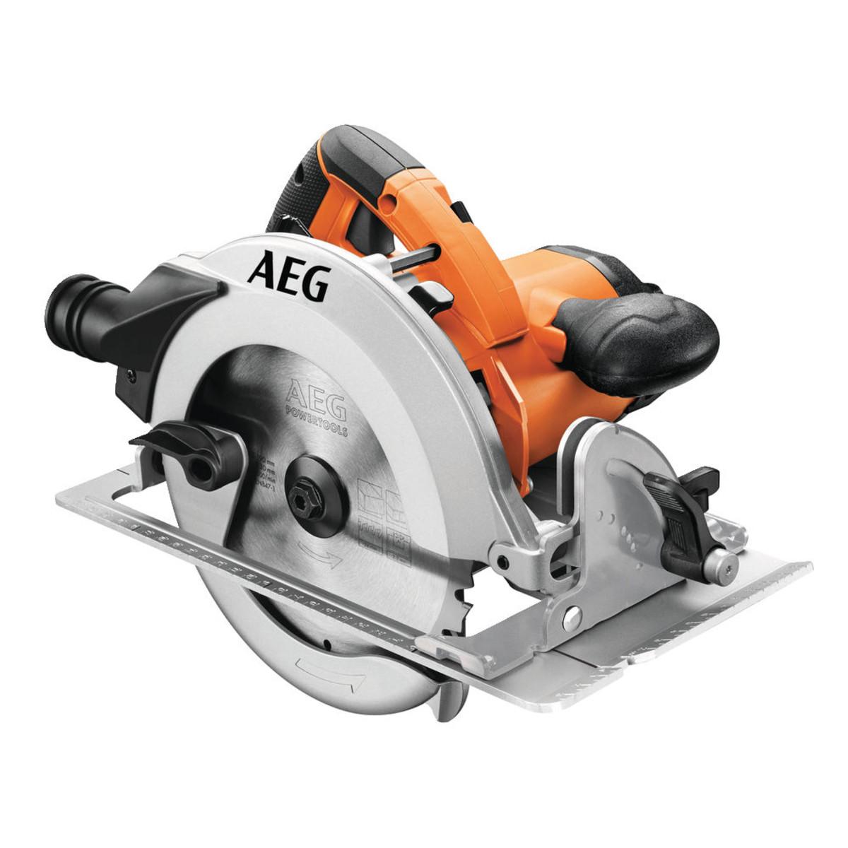 Циркулярная профессиональная пила AEG KS 66-2 1600Вт 190 мм