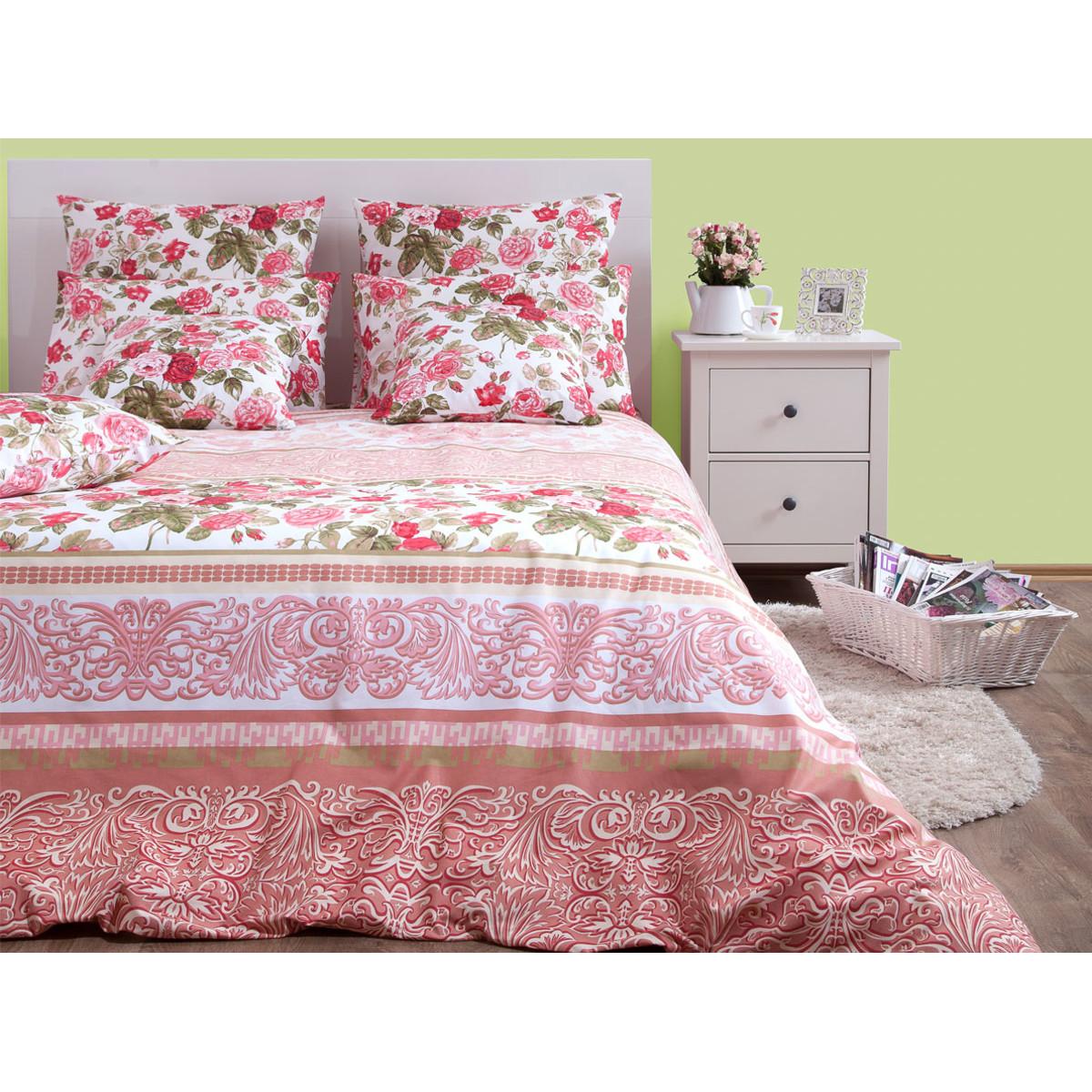 Комплект постельного белья Букет двуспальный бязь 50x70 см