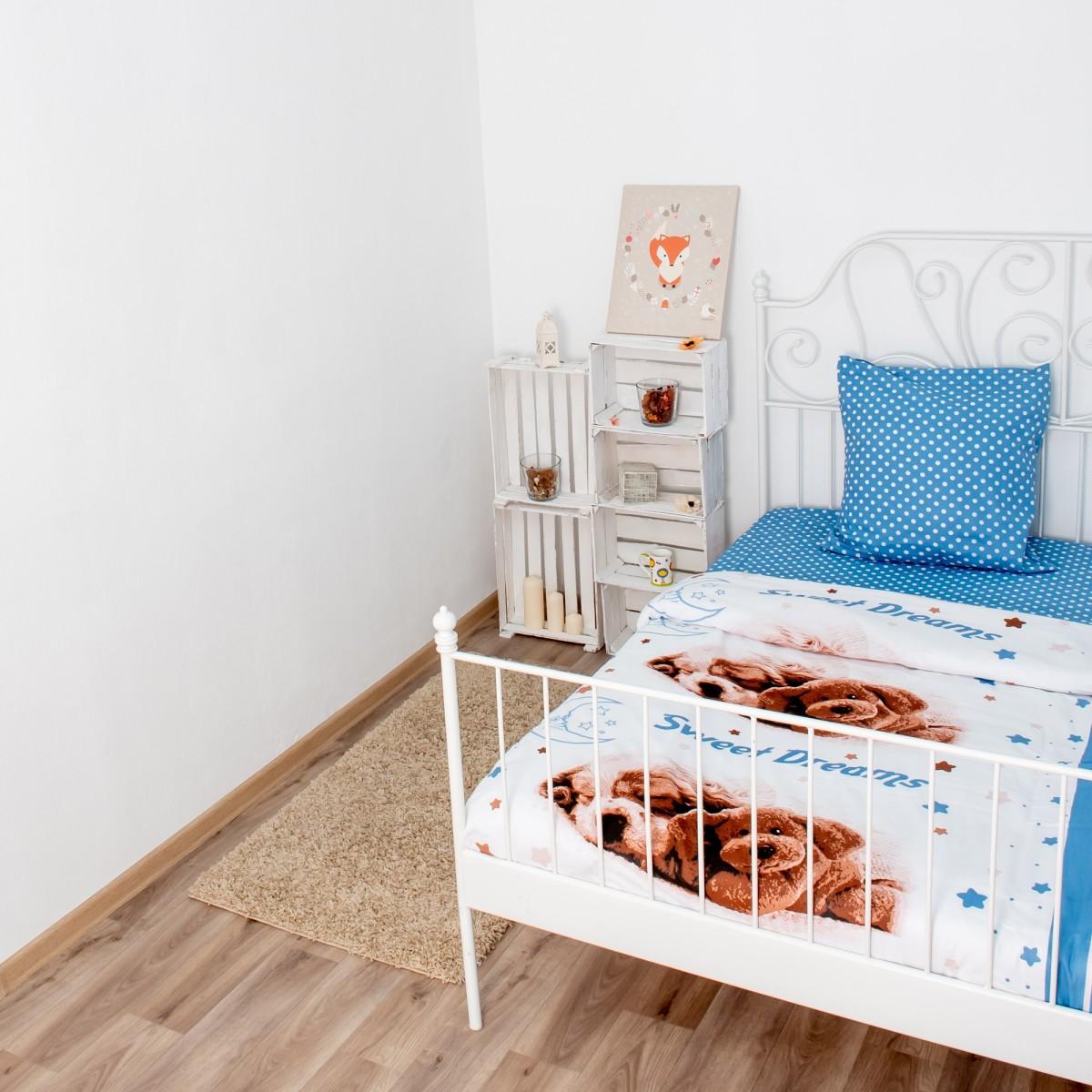 Комплект постельного белья Василек полутораспальный бязь