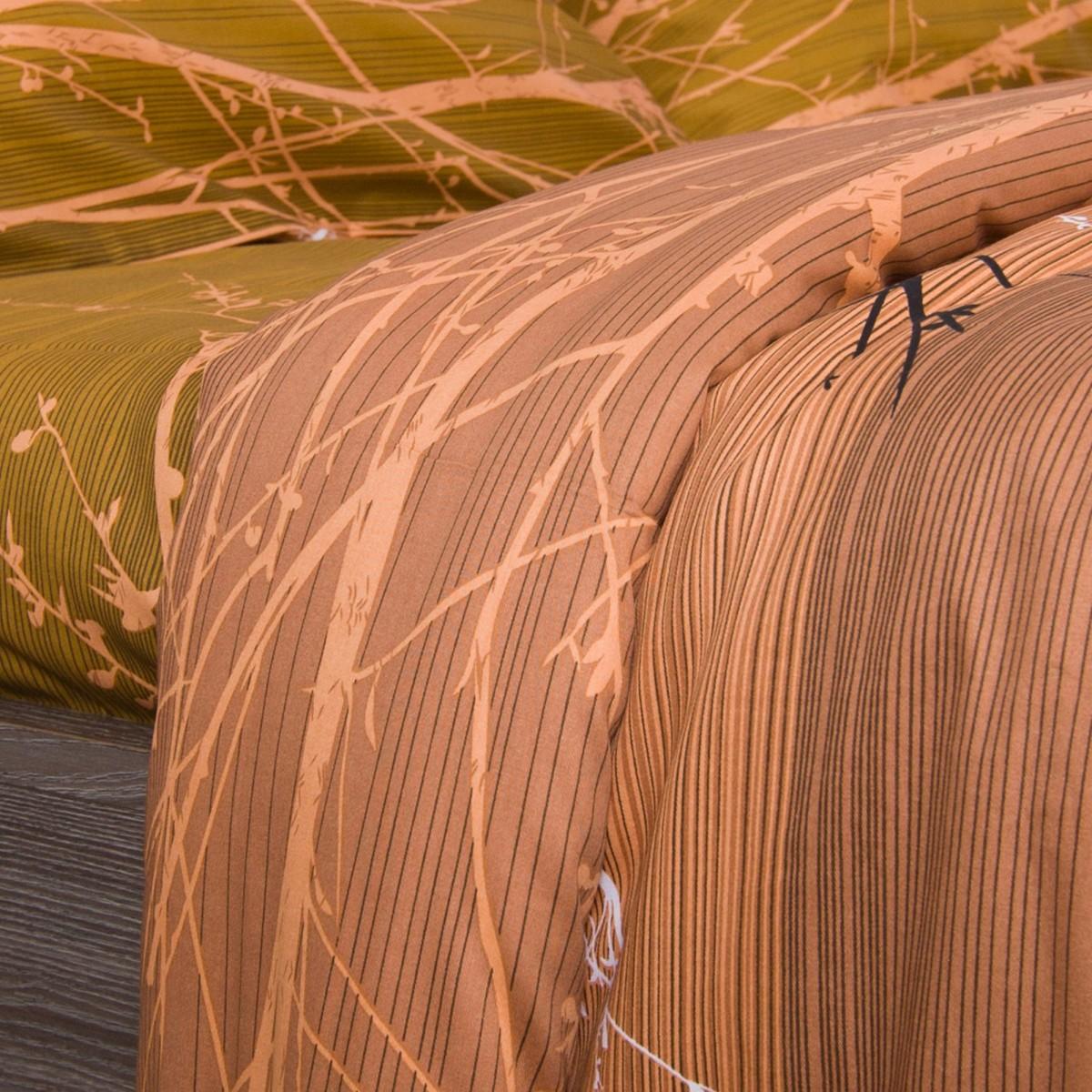 Комплект Постельного Белья Осень Полутораспальный Сатин