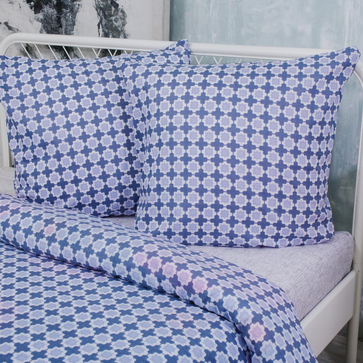 Комплект Постельного Белья Павлина Полутораспальный Поплин 70x70