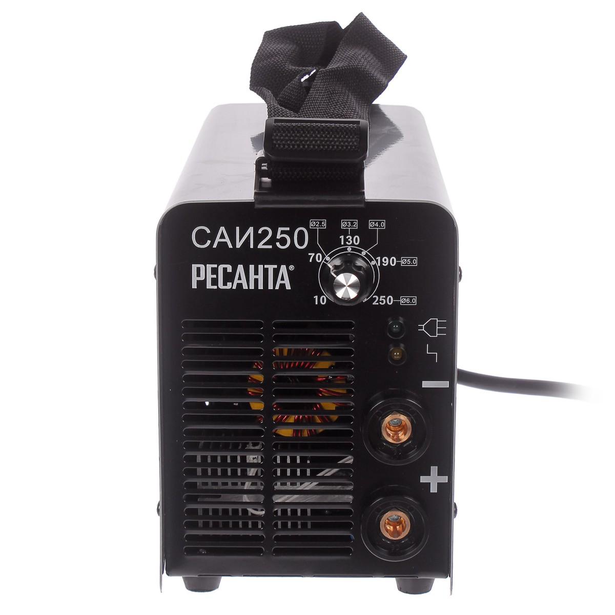Дуговой Сварочный Инвертор Ресанта Саи-250 65/6