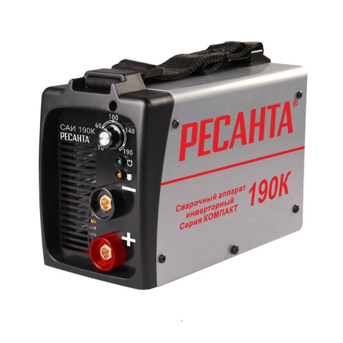 Дуговой Сварочный Инвертор Ресанта Саи-190К 65/36