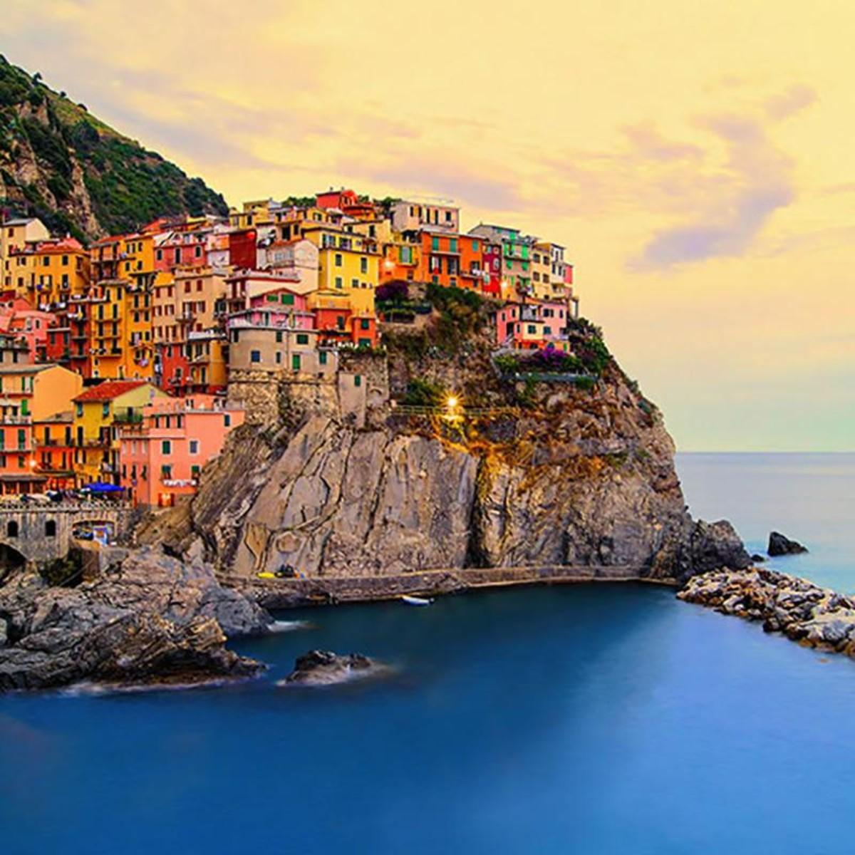 Фотообои W+G Cinque Terre Coast 130 366х254 см