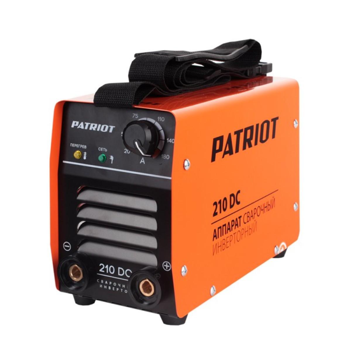 Дуговой Сварочный Инвертор Patriot 210dc Mma 605302518