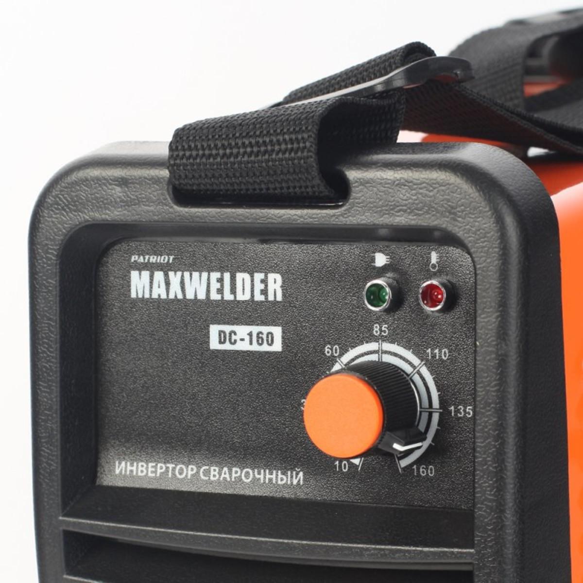 Дуговой Сварочный Инвертор Max Welder Dc-160 605302029