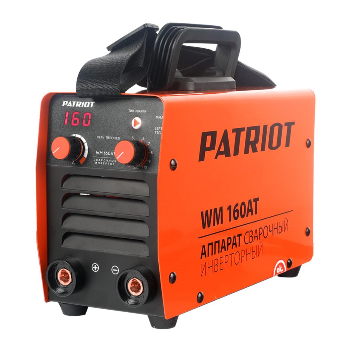 Дуговой Сварочный Инвертор Patriot Wm 160at Mma 605302616