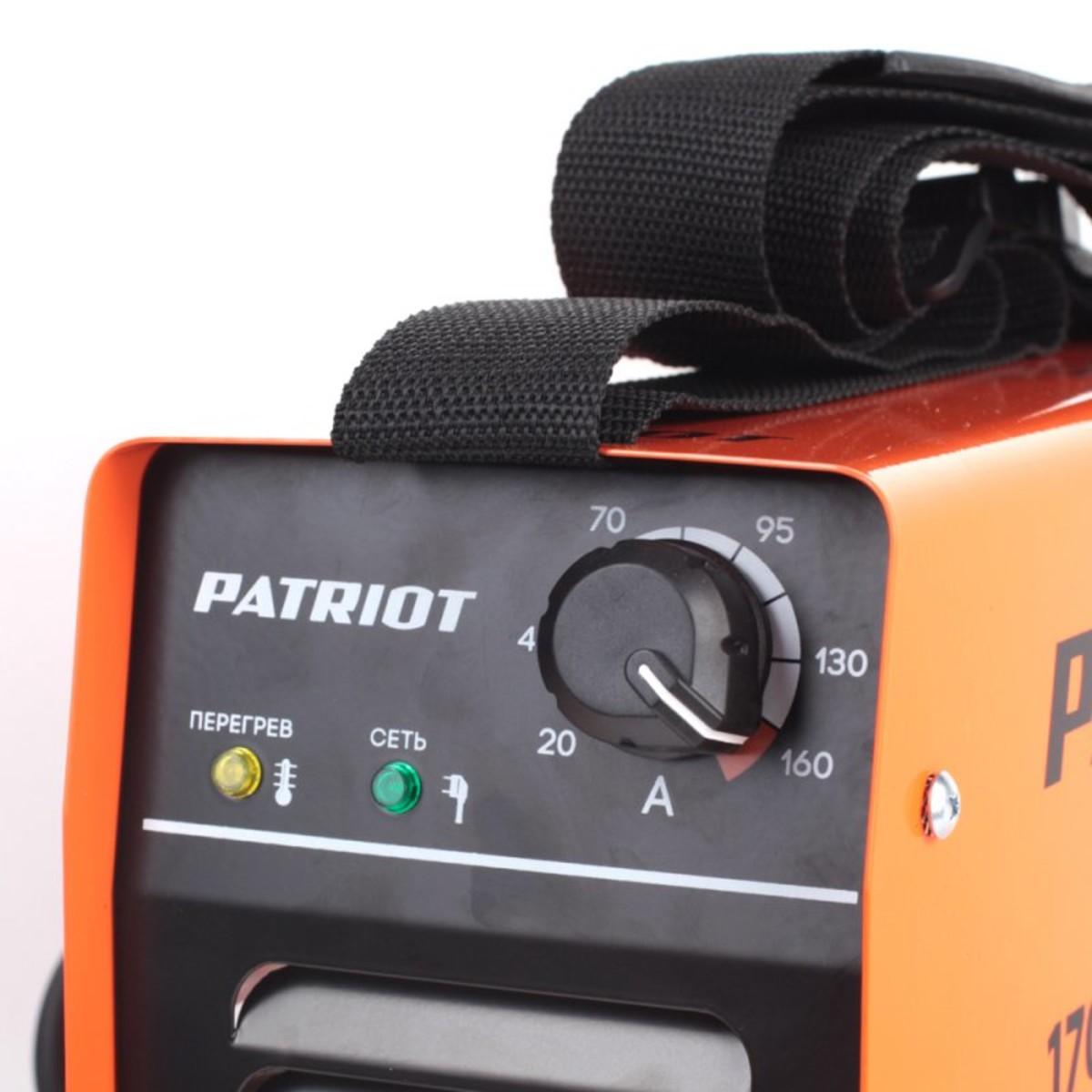 Дуговой Сварочный Инвертор Patriot 170dc Mma 605302516