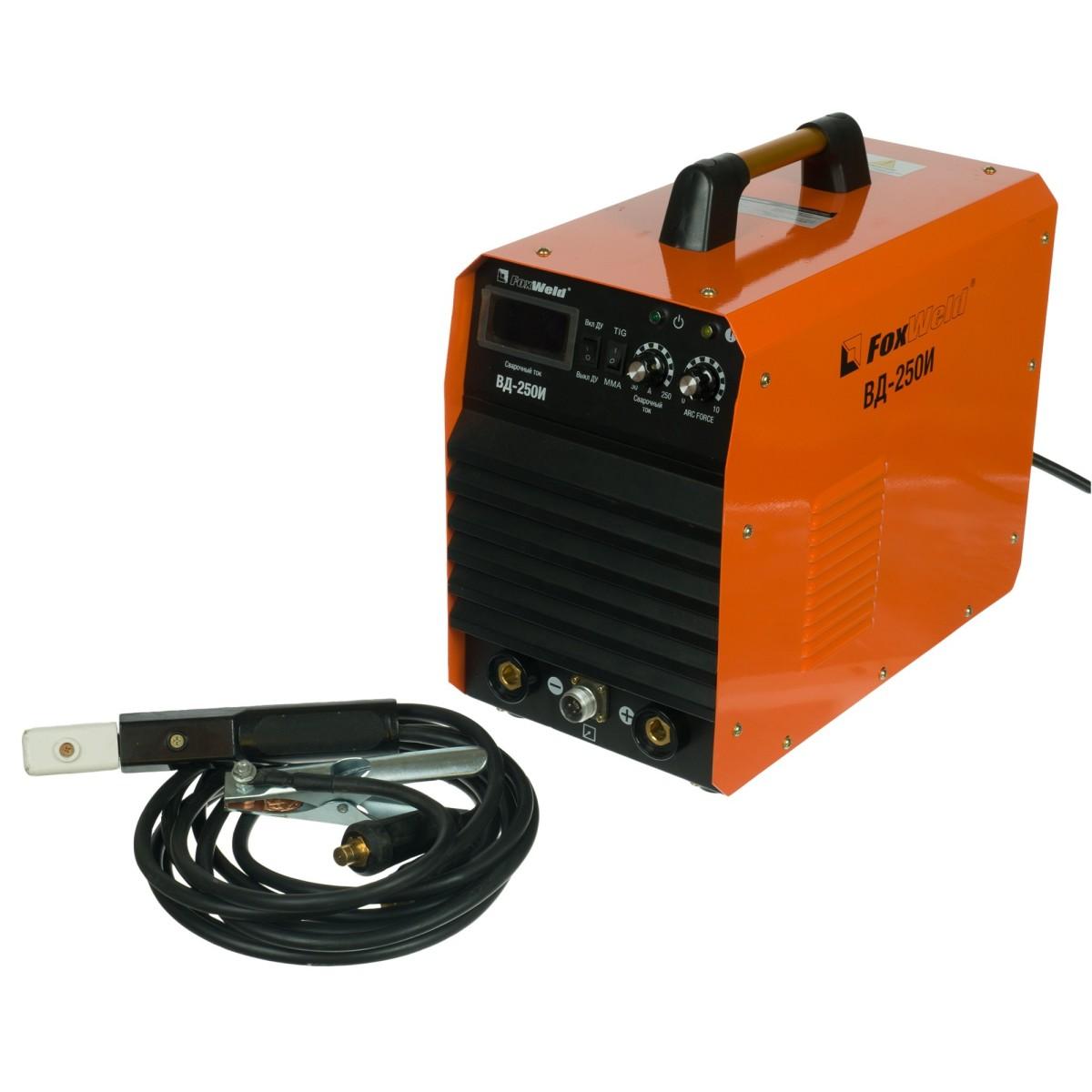 Дуговой сварочный инвертор FoxWeld ВД-250И 5892