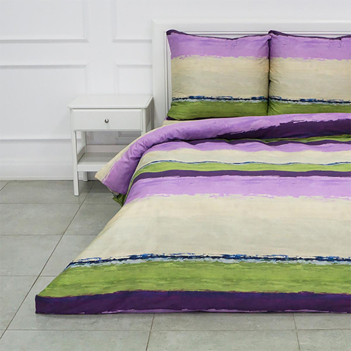 Комплект Постельного Белья Росси Евро Сатин 70x70