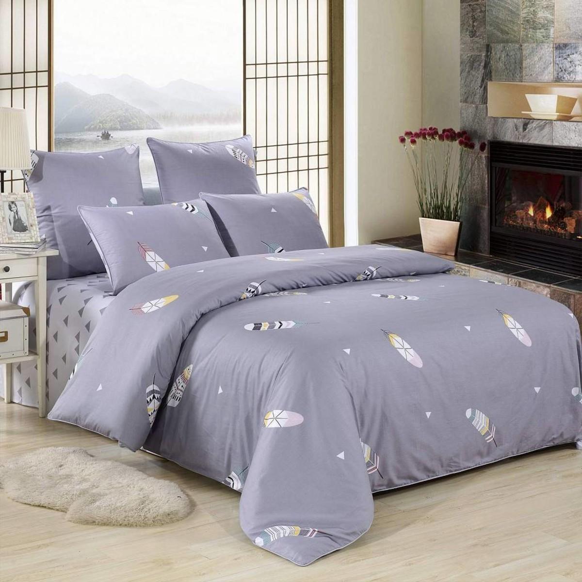 Комплект постельного белья Мирта евро сатин