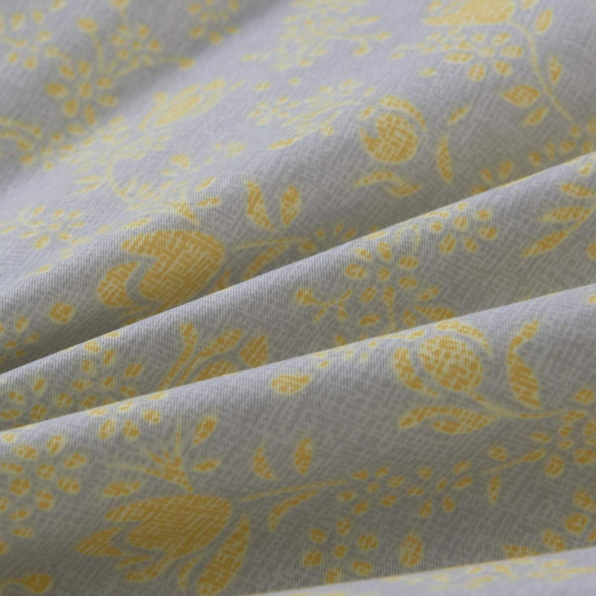Комплект Постельного Белья Росси Евро Сатин 50x70 70x70