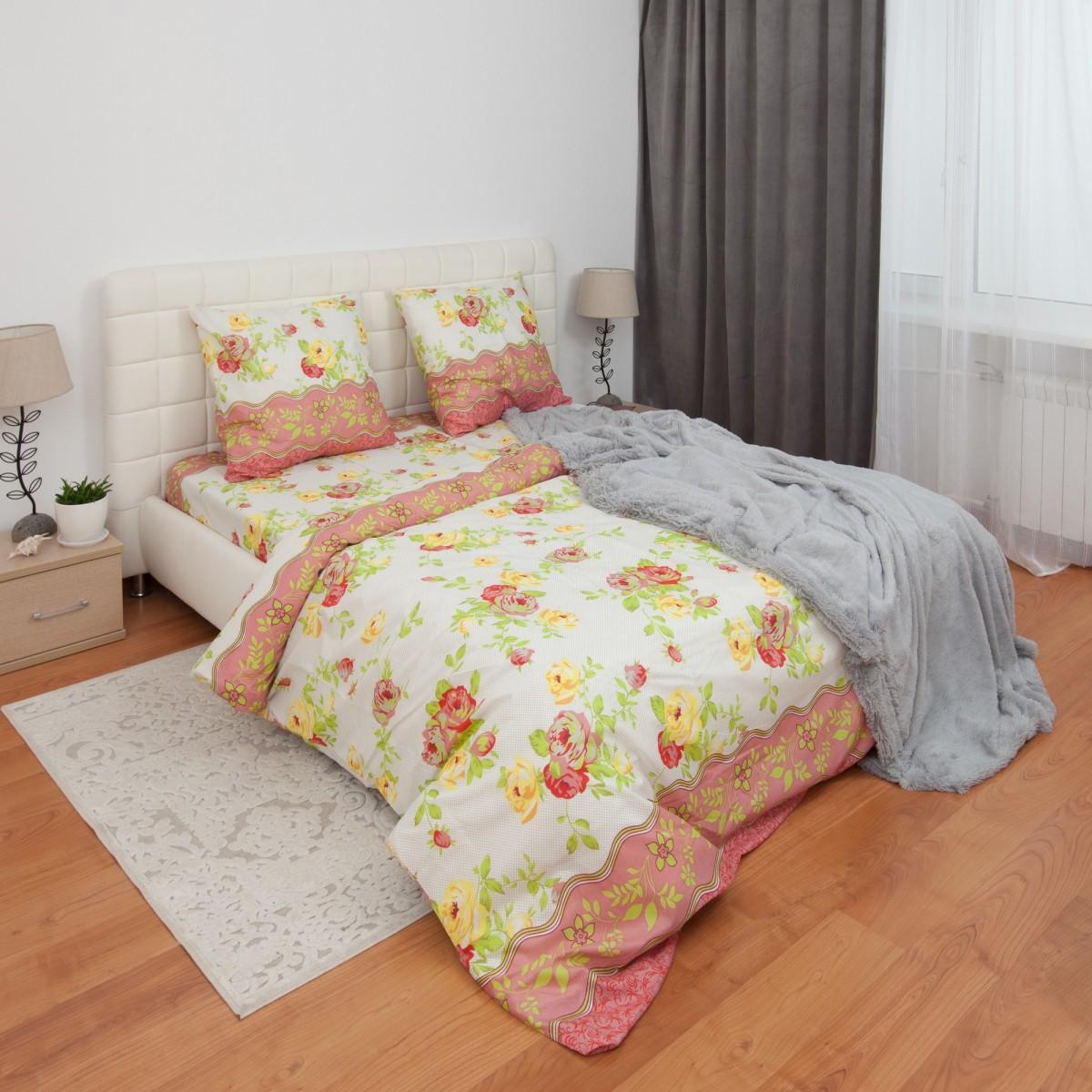 Комплект постельного белья Канна евро микрофибра