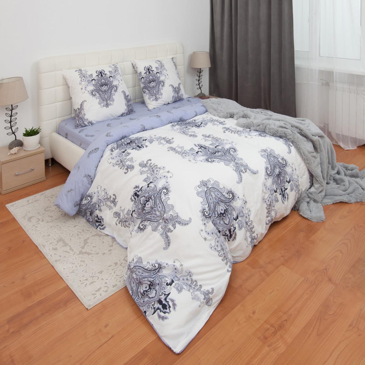 Комплект Постельного Белья Roshel Евро Поплин 50x70