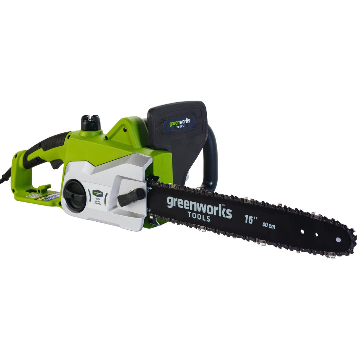 Цепная пила электрическая GreenWorks GCS1840 1800 Вт 40 см 20027