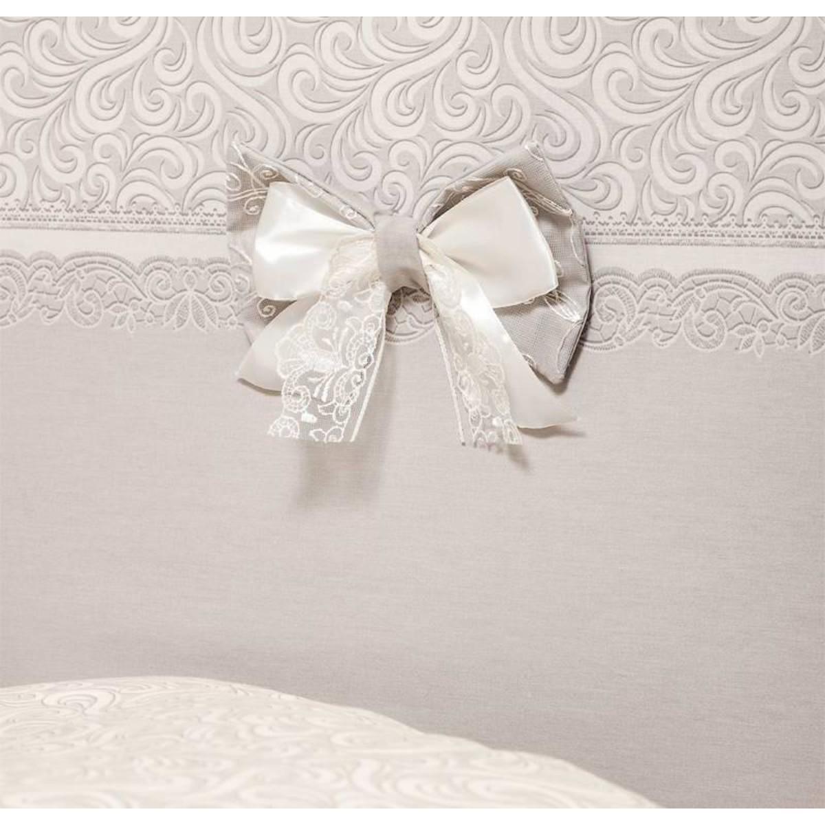 Комплект Постельного Белья Версаль В Кроватку Сатин 7 Предм