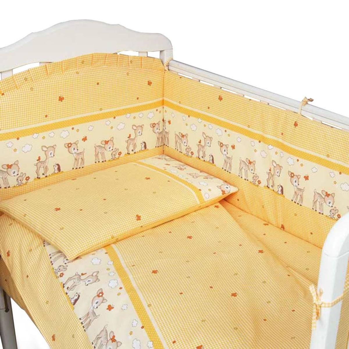 Комплект Постельного Белья Сонный Гномик Оленята