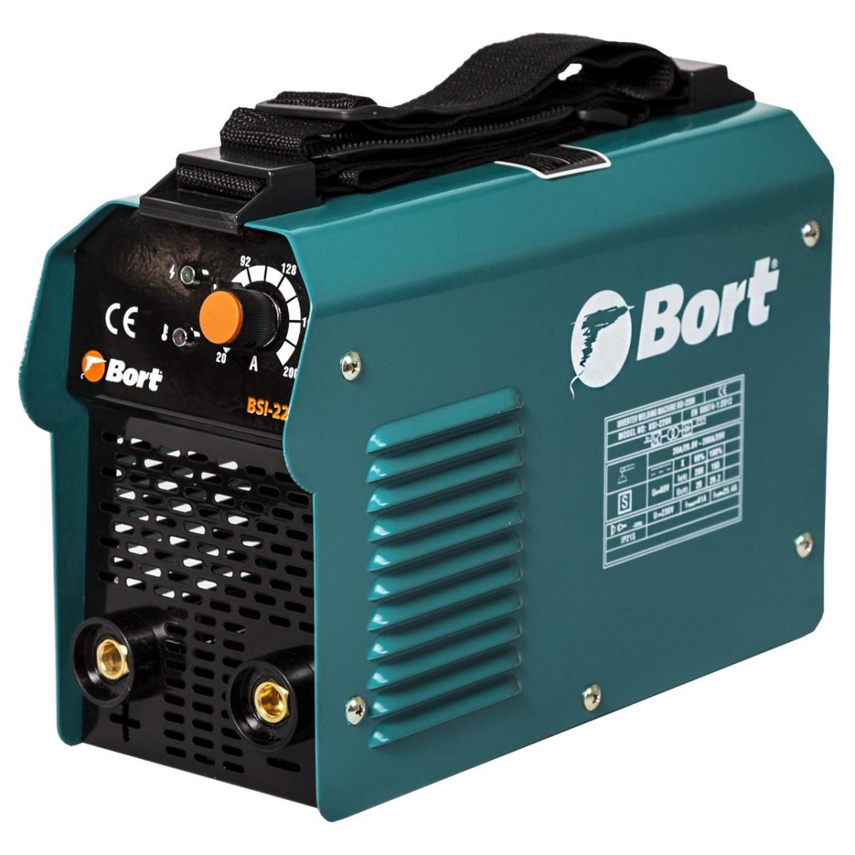 Дуговой сварочный инвертор Bort BSI-220H 91272652