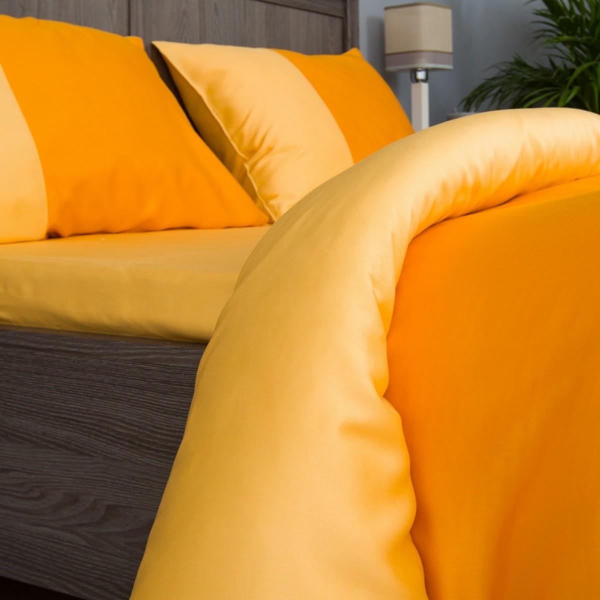 Комплект Постельного Белья Orange Fresh Евро Сатин