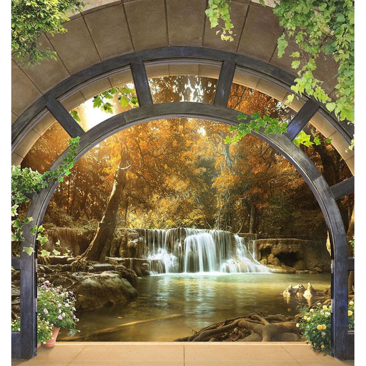 Фотообои For Wall Водопады 11553V8 368х254 см