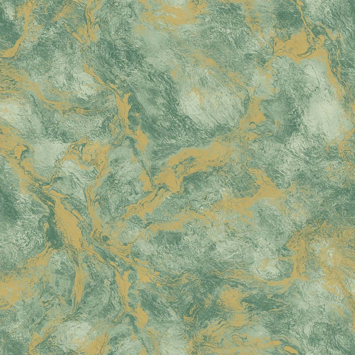 Обои флизелиновые Adawall Indigo зеленые 1.06 м 4712-3