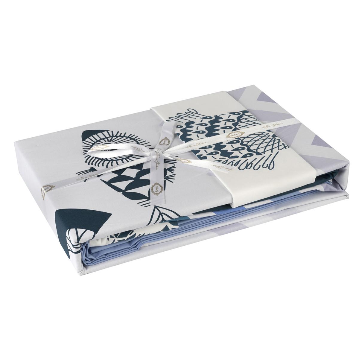 Комплект Постельного Белья Ocean Евро Поплин 50x70 70x70