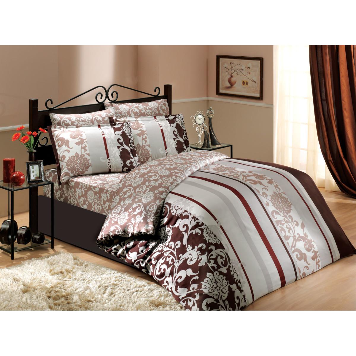 Комплект Постельного Белья Oriental Семейный Сатин 50x70 70x70