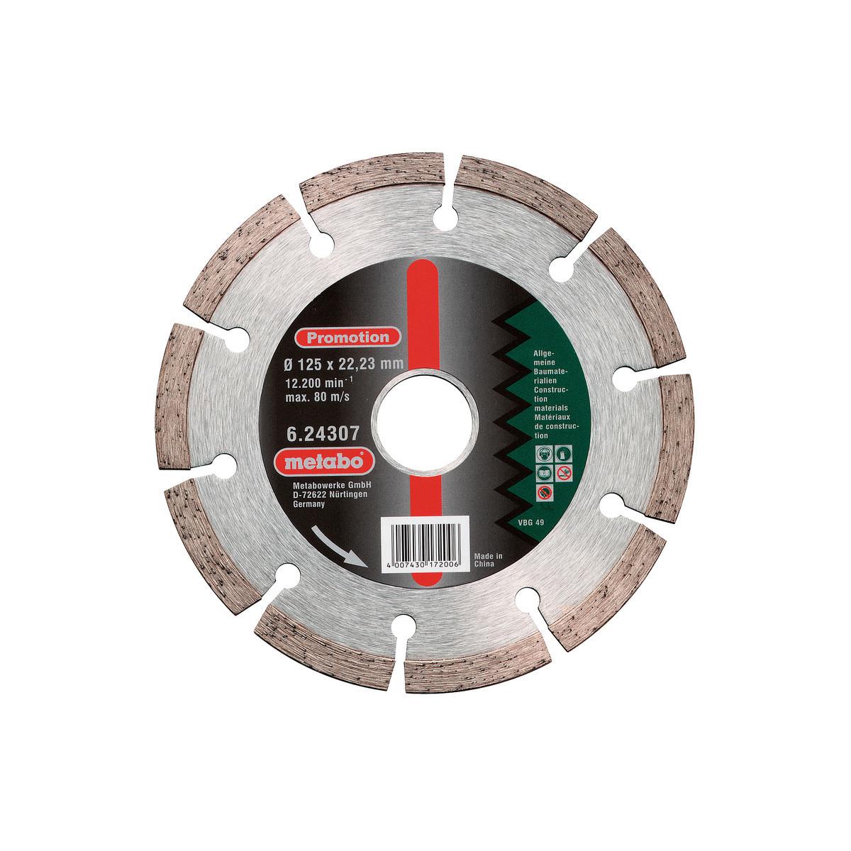 Диск Алмазный Metabo 125x2223 624307000