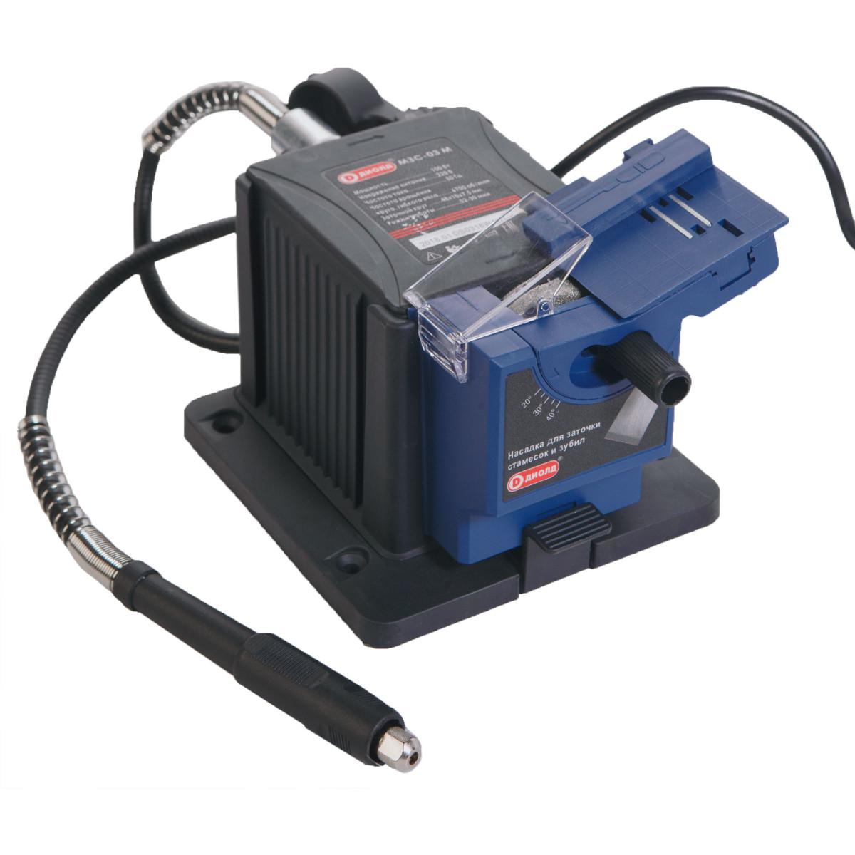 Точильный станокДиолд МЗС-03М100Вт 6700/мин 1.04 кг