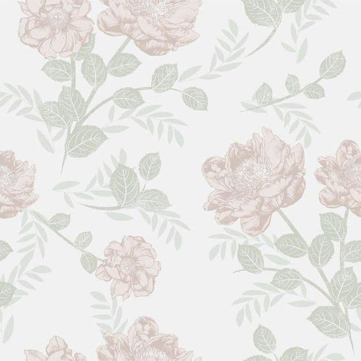 Обои флизелиновые Collection For Walls Northern Feelings розовые 0.53 м 203601