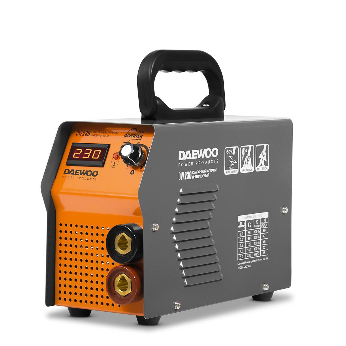 Дуговой Сварочный Инвертор Daewoo Dw 230
