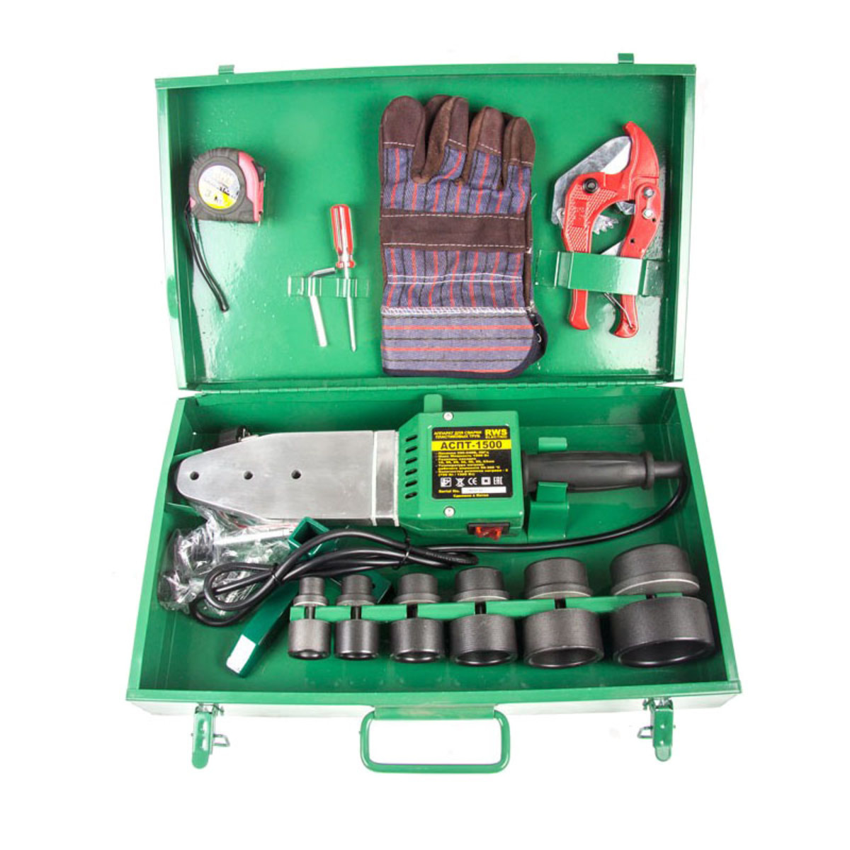 Сварочные аппараты для пластиковых труб RWS АСПТ-1500 25665